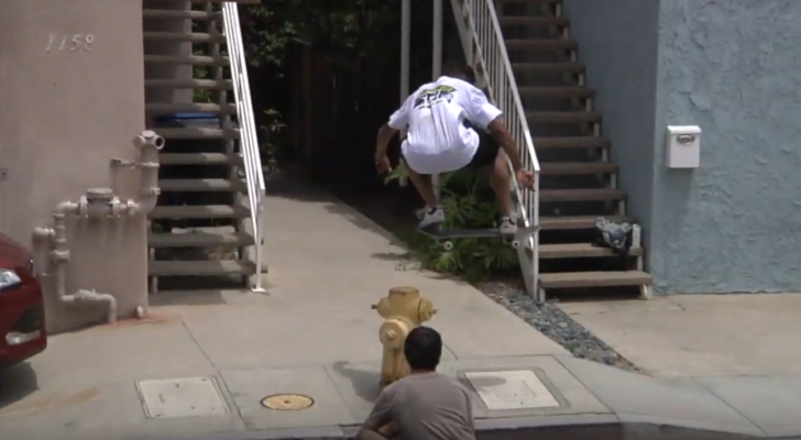 Dani Jenks en el clip de la Skatecation 2019 de Dwindle