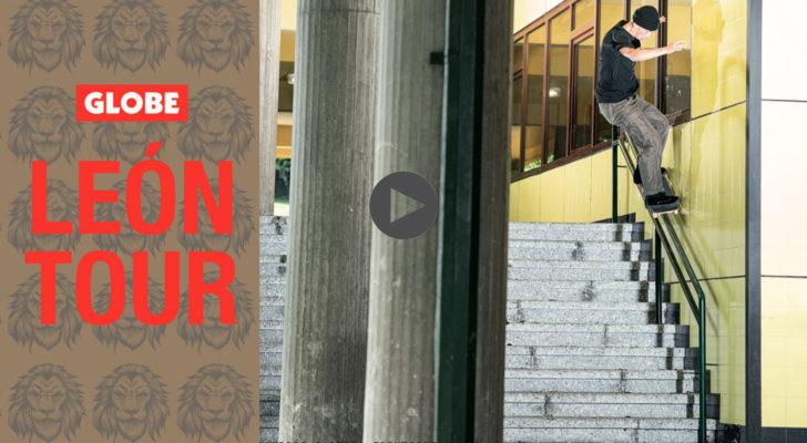 Clip y fotos del León Tour de Globe
