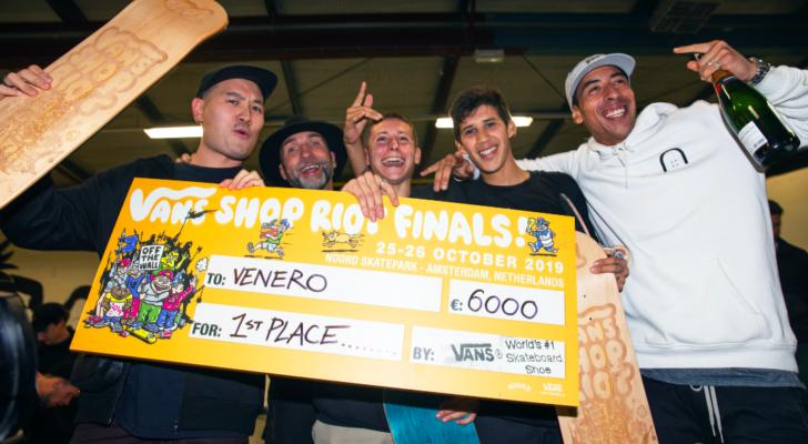 Clip de la final europea del Vans Shop Riot 2019