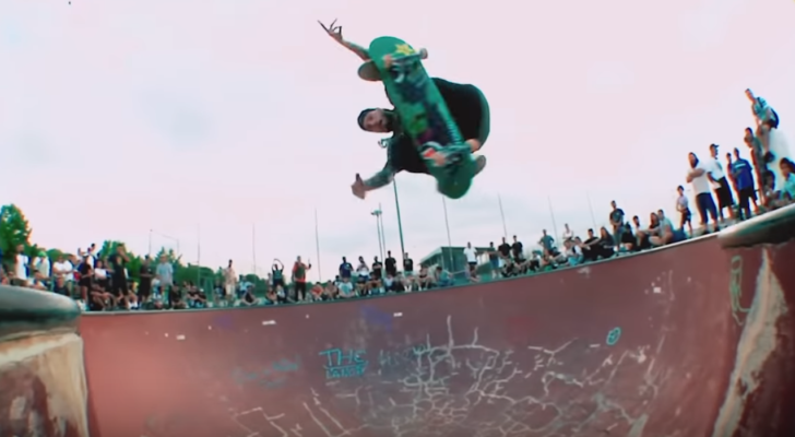 Clip de tour europeo de Madness Skateboards
