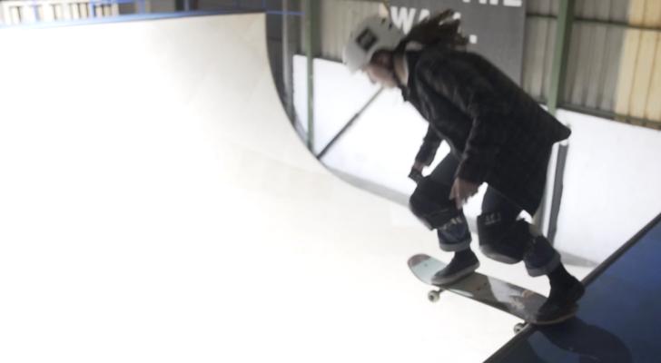 Vídeo. Las patinadoras toman el Guretxoko en Neskaters