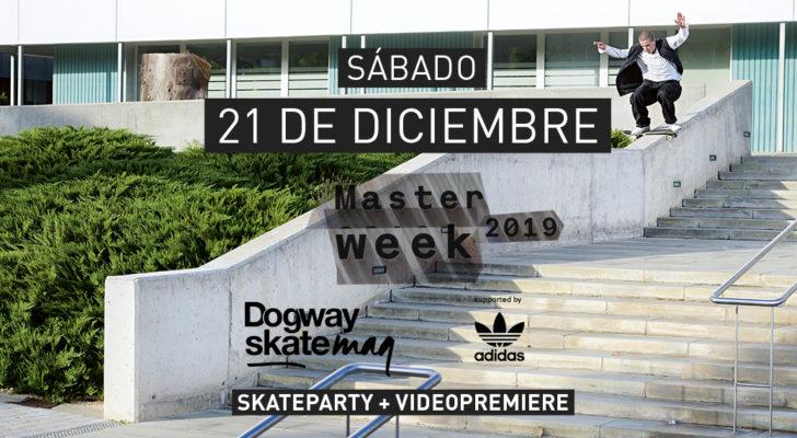 Premier y skate party Masterweek 2019 x adidas Skateboarding