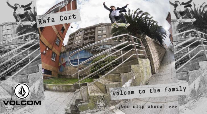 Rafa Cort «Volcom To The Family». Premier online