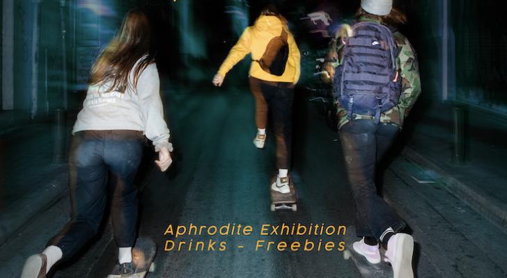 Premier en BCN de Aphrodite, un vídeo con patinadoras europeas