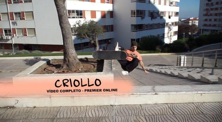 Premier online del vídeo «Criollo»