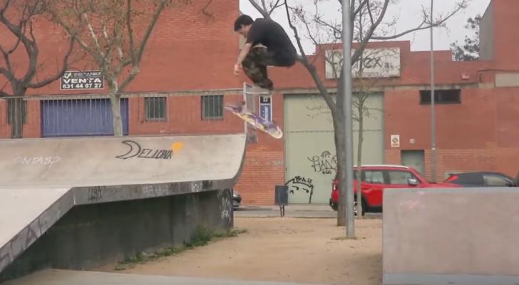 Un interesante park clip de Cristian Vannella