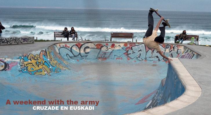 Nuevo clip de Cruzade. Así patinó la «army» en Euskadi