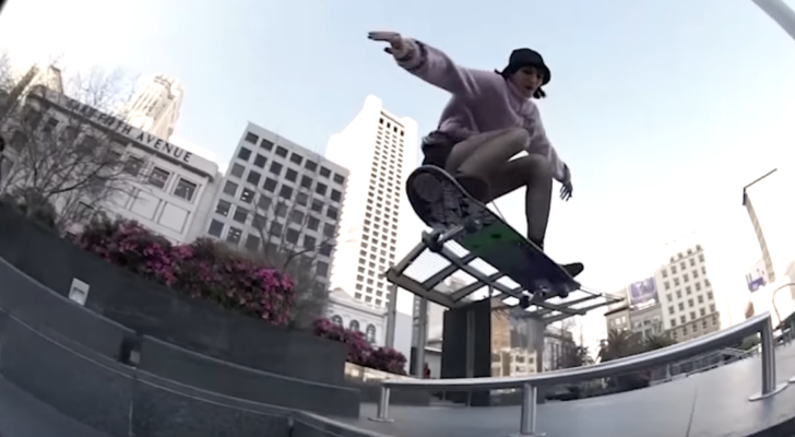 Ya puedes ver Credits, un vídeo con skate íntegramente femenino
