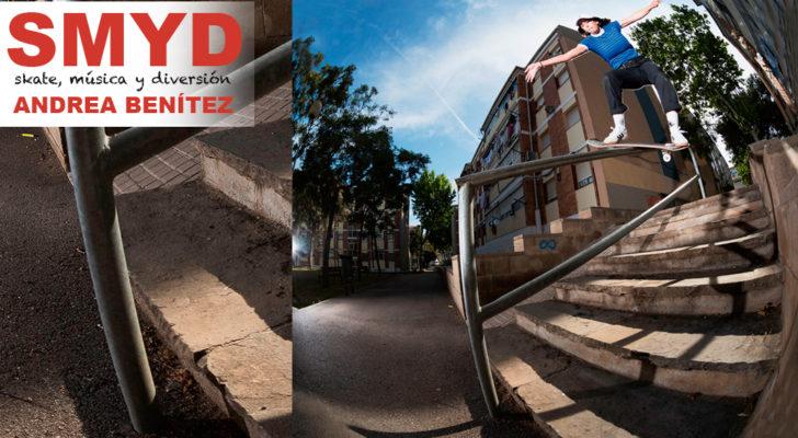 SMYD. Skate, Música y Diversión con Andrea Benítez