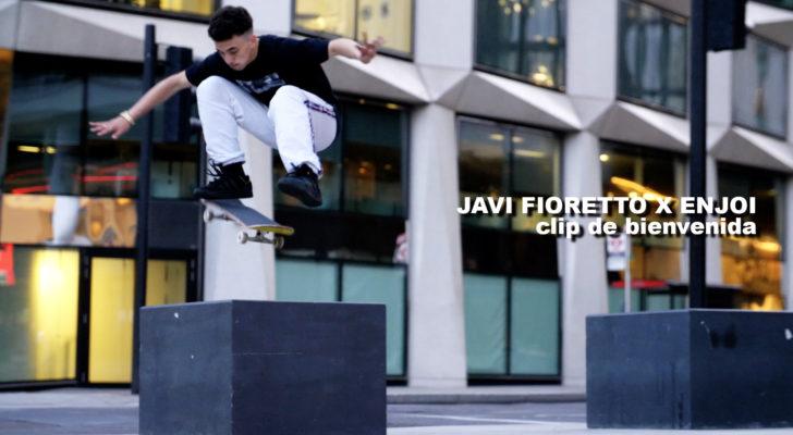 Javi Fioretto llega a Enjoi con este clip