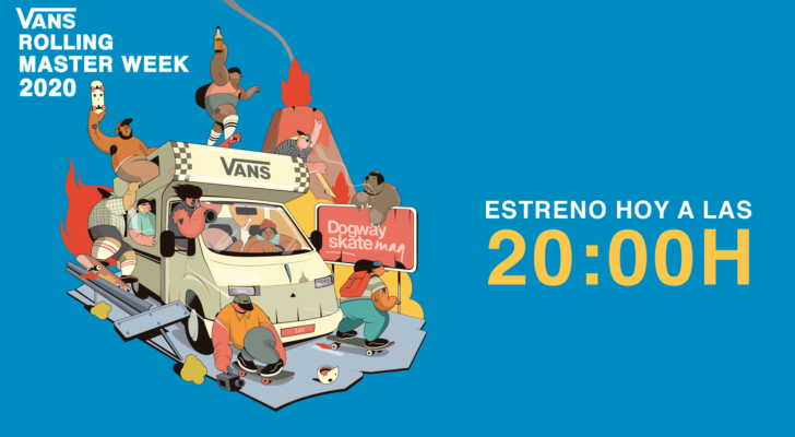Info de la premier y campeonato online Vans Rolling Masterweek 2020