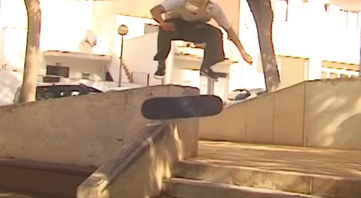Asómate al skate de Mallorca con el vídeo completo Cecília