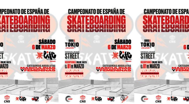 Participa en el Campeonato de España de Skateboarding