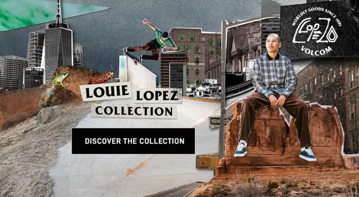 La colección de Louie Lopez x Volcom (y el clip del tour)