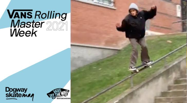 Carlos Albi. Vans Rolling Masterweek 2021