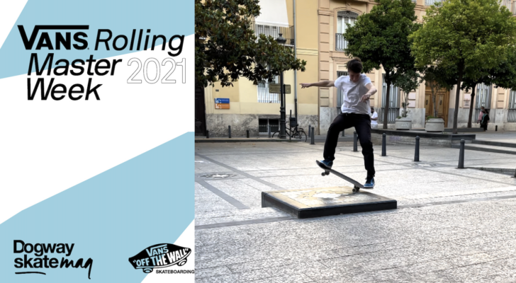 Erik Mihalik. Vans Rolling Masterweek 2021