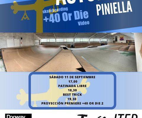 Premiere  «+40 or die 2» vídeo ,Asturias